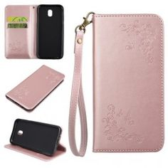 Samsung Galaxy J7 2017 ruusukulta kukkia ja perhosia puhelinlompakko Samsung Galaxy, Sony Xperia, Bags, Leather, Accessories, Butterflies, Flower, Handbags, Taschen