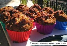 Rebarbarás muffin egészségesen