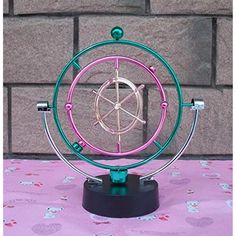 Miss.AJ Electronic Perpetual Motion Toy Educational Science Toys Electric Wiggler Kinetic Milky Way Orbital Gadget Perpetual Motion Art Office Desk Home Decor *** To view further for this item, visit the image link. (This is an affiliate link) #LearningEducation