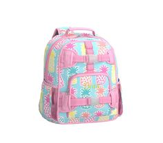 2ac58e0c89f Mackenzie Aqua Pineapple Backpack   Pottery Barn Kids Girl Backpacks, Cute  Backpacks, Pottery Barn