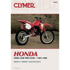 Clymer Honda CR60-125R Pro-Link (1981-1988) - https://www.boatpartsforless.com/shop/clymer-honda-cr60-125r-pro-link-1981-1988/