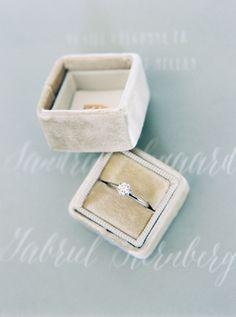 Prettiest Ring Box from Mrs Box, Love it. #ringbox #wedding #ring