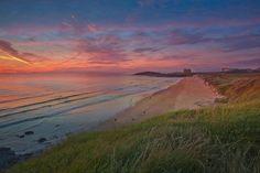 Sunset at Fistral Beach. Newquay. Beach Sunset, summer, photograph, art, relaxing