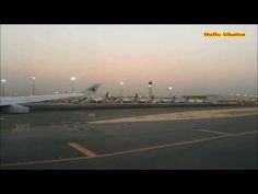 কাতার হামাদ আন্তর্জাতিক বিমানবন্দর এ অবতরণ   Landing Hamad International...