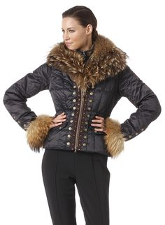 Luxury at it's best: Feel exclusive in Down Jacket Scara from Bogner Ski.