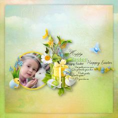 """Easter With The Friends Of The Forest"" by Kitty Scrap, https://digital-crea.fr/shop/index.php?main_page=product_info&cPath=155_327&products_id=30423&zenid=2kmm075ka0j54d91a6j6duu402, photo Pixabay"