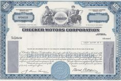 Studebaker-Packard Corporation, Issued to Bache & Co. Value Of E, Money Frame, Navistar International, Economies Of Scale, American Auto, Chevrolet Trucks, Ford Motor Company, General Motors, Vignettes