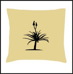 Africa Aloe Cushion Cover by Pokkki on Etsy, Scatter Cushions, Cushion Covers, Aloe, Africa, Pillows, Unique Jewelry, Handmade Gifts, Etsy, Vintage