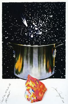 James Rosenquist, Caught One, Lost One, For the Fast Student, 1989, Meyerovich Gallery