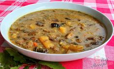 Czech Recipes, Bon Appetit, Cheeseburger Chowder, Food And Drink, Cooking, Soups, Invite, Fashion, Kitchen