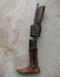 21 antique limbs for you to see how prosthetics were before technology! #Prosthetics