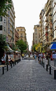 GREECE CHANNEL | Ermou Street, Athens