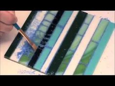 D&L Art Glass: Fused Mosaics with No Days Mosaic Mounting Sheets