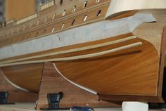 The Construction Of The San Felipe Ballustrading And Side Rails Model Ship Building, Decorative Mouldings, Model Ships, Construction, Craft, Boats, Concept Ships, Building