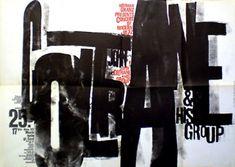 "design-is-fine: "" Günther Kieser, poster artwork for John Coltrane concert tour, Düsseldorf, Germany. "" John Coltrane on Coffee with Naima Poster Design, Art Design, Poster Jazz, Gig Poster, Mises En Page Design Graphique, Inspiration Typographie, Vintage Concert Posters, Typographic Poster, Grafik Design"