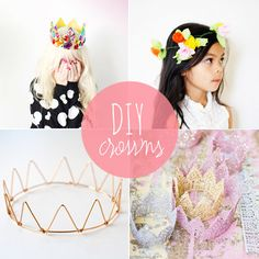 10 magical DIY party crowns from Babble.com