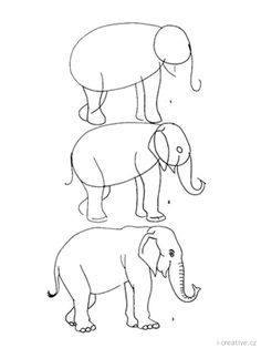 Naučte se kreslit zvířata | i-creative.cz - Inspirace, návody a nápady pro rodiče, učitele a pro všechny, kteří rádi tvoří.