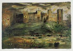John Piper 'Framlingham Castle', 1971 © The Piper Estate