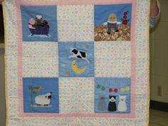 Nursery Rhyme Baby Quilt - Karen K