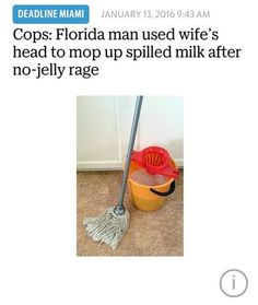 Florida: Come for Disney World, stay because someone got high on bath salts and ate your face off.