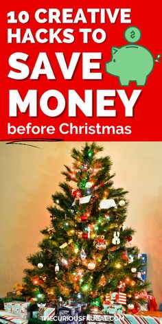 10 creative ways to save money on a tight budget. Learn how to save money before Christmas! It is possible to save money on a low income but it takes some creativity. Here are some money saving hacks and frugal hacks to save you thousands a year! | save money tips | save money ideas | save money on groceries | how to save money | frugal living tips | frugal living ideas Save Money On Groceries, Ways To Save Money, Money Tips, Money Saving Tips, Christmas On A Budget, Before Christmas, Holiday, Frugal Living Tips, Frugal Tips