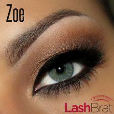 ZOEmink lashes! Now available at ✨www.lashbrat.com✨ Eye model & #mua: @theamazingworldofj