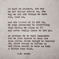 Robert M. Drake http://instagram.com/rmdrk https://www.facebook.com/rmdrk #532 by Robert M. Drake #rmdrake @rmdrk Beautiful chaos is now available through my etsy.