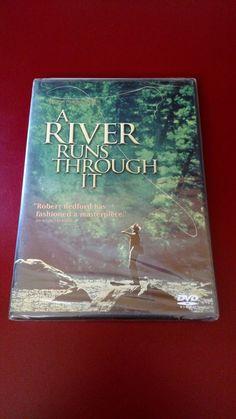 A River Runs Through It DVD (NEW) Robert Redford, Brad Pitt, Tom Skerritt