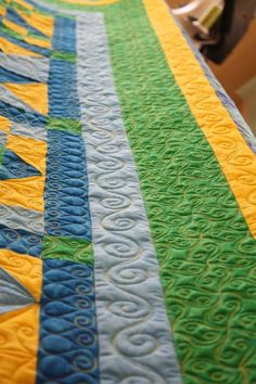 quilting ideas- photo from flickr - other pics of longarm quilting