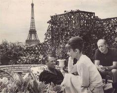 Audrey Hepburn + Paris