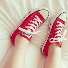 I remember when Converse weren't all that cool and I had five pairs. All were different shades dirty.