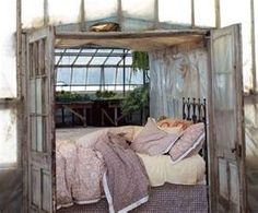 repurposing old windows and doors for