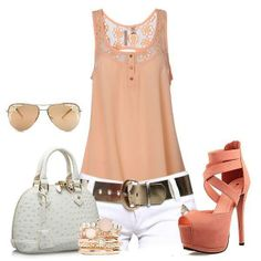 moda Peach, Fashion Looks, Outfits, Shorts, My Style, Womens Fashion, How To Make, Facebook, Alone Girl