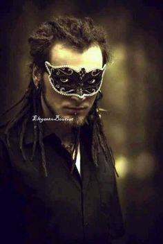 Men's Masquerade Mask - Mystifying Hunter's Collection