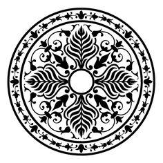 stencil motif   MD-025