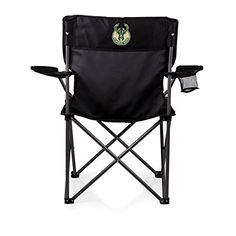 NBA Milwaukee Bucks 'PTZ' Portable Folding Camp Chair  http://allstarsportsfan.com/product/nba-milwaukee-bucks-ptz-portable-folding-camp-chair/  Missing Attachment Perfect for any outdoor Picnic Use Items Color: Black Decoration: digital print