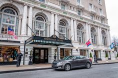 The Hermitage Hotel in Downtown Nashville, Tennessee.