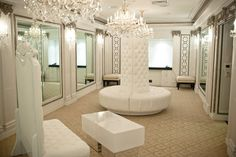 The Chafee Court- My bridal dressing room at The U.S. Grant