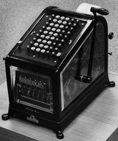 """The """"Evolution of Technology"""" series continues by looking at math and the way we use devices for adding and subtracting and how they have evolved. Mechanical Calculator, Crt Tv, Old Technology, Machine Age, Adding And Subtracting, Cash Register, Office Essentials, Tape Recorder, Weird Cars"""