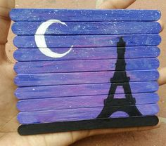 Discover recipes, home ideas, style inspiration and other ideas to try. Popsicle Stick Art, Popsicle Stick Crafts, Craft Stick Crafts, Disney Drawings, Cute Drawings, Mini Canvas Art, Origami Easy, Cute Crafts, Painting On Wood