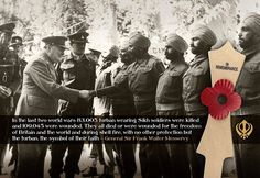 Sikhs in WW1 and WW2