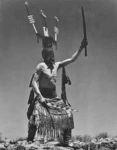 Apache man dressed as Crown Dancer - 1939➳ʈɦuɲɖҽɽwσℓʄ➳