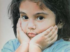 Drawing in colorpencils