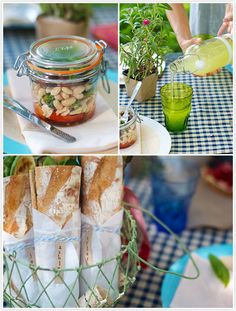 Food & drinks ideas for a summer picnic | Camille Styles