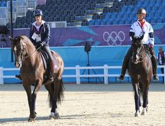 Odds on favorites for an individual medal CHARLOTTE DUJARDIN - VALEGRO warm up for Olympic dressage. Love her dark brown boots.