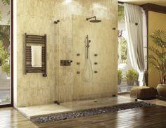A beautiful Tropical Bathroom.