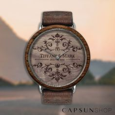Dial engraving / cadran de montre personnalisé Unique Gifts, Handmade Gifts, Wooden Watch, Special Events, Watches, Accessories, Design, Wood Watch, Original Gifts