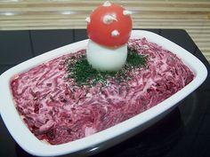 Russischer Schichtsalat Hering im Pelzmantel (Rezept mit Bild) | Chefkoch.de