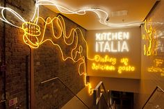 Michaelis Boyd Associates — Kitchen Italia, Earlham Street