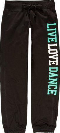 Amazon.com: FULL TILT Live Love Dance Girls Pants: Clothing